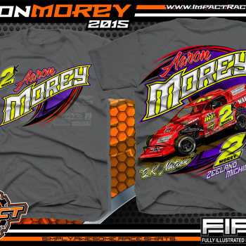 Aaron Morey Dirt Modified Racing Shirt 2015 CH