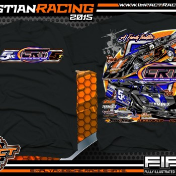 Christian Racing Dirt Late Model Shirts 2015