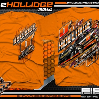 Dale Hollidge Dirt Late Model T-Shirt