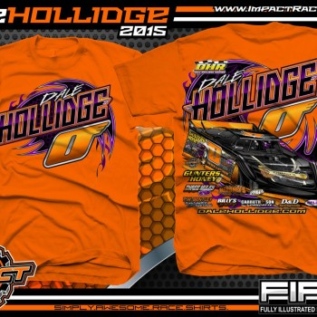 Dale Hollidge FIRST Series 2015 orange