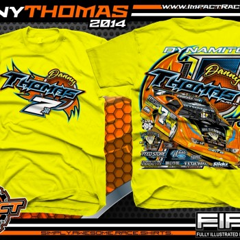 Danny Thomas Dirt Late Model T-Shirt