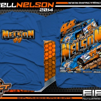 Darrell Nelson Dirt Modified and Dirt Late Model T-Shirt