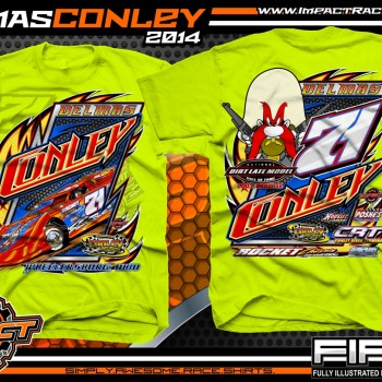 Delmas Conley Dirt Late Model T-Shirt