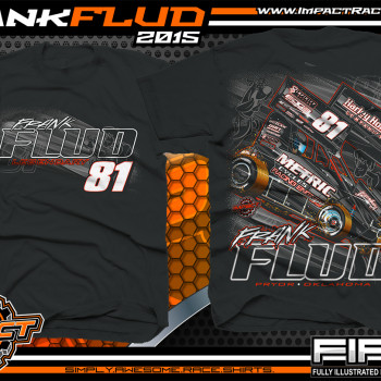 Frank Flud Outlaw Winged Sprint Car 2015 - Sprint Car Shirts