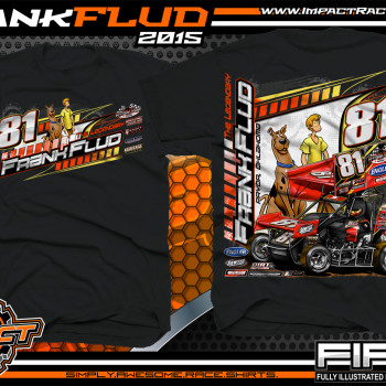 Frank Flud Sprint Car Shirt 2015 Black
