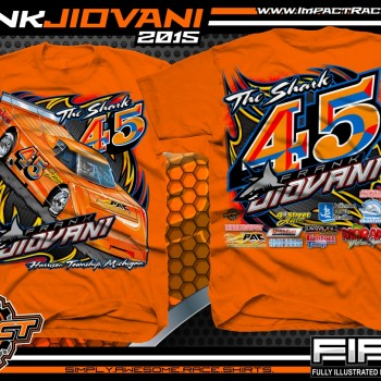 Frank Jiovani ARCA Outlaw Late Model T-Shirt