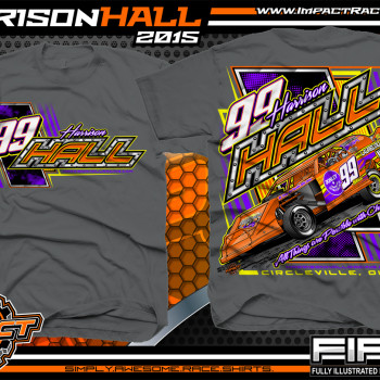 Harrison Hall Dirt Modified Racing Shirt 2015 CH