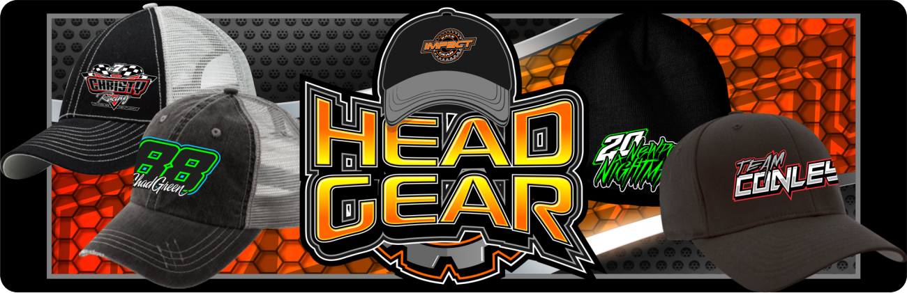 Custom Racing Hats HeadGear