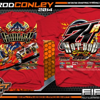 Rod Conley Dirt Late Model T-Shirt