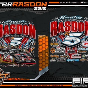 Hunter Rasdon Dirt Late Model Shirts 2015