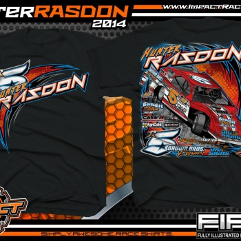 Hunter Rasdon Dirt Modified T-Shirt Black