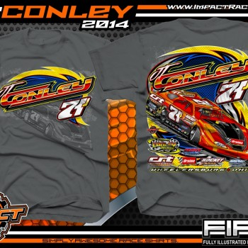 JT Conley Dirt Late Model T-Shirt