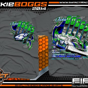 Jackie Boggs Dirt Late Model T-Shirt