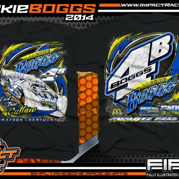 Jackie Boggs Dirt Late Model T-Shirt Black