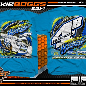 Jackie Boggs Dirt Late Model T-Shirt Sapphire