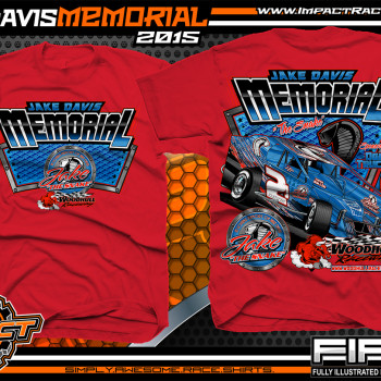 Jake Davis Memorial North East Modified Event Shirt 2015