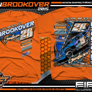Jason Brookover Dirt Modified Racing Shirt 2015