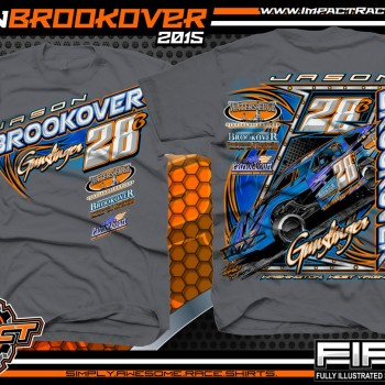 Jason Brookover Dirt Modified Racing Shirt 2015 CH