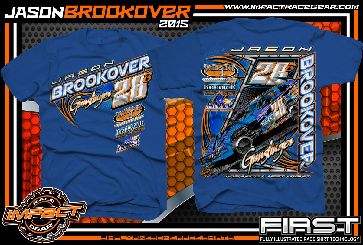 custom racing shirts impact racegear