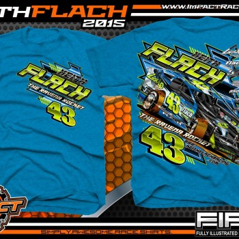 Keith Flach DIRT Big Block Modified Racing Shirt 2015
