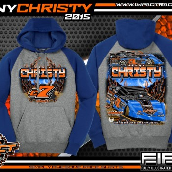 Kenny Christy Dirt Late Model Shirt 2015 Hoodie