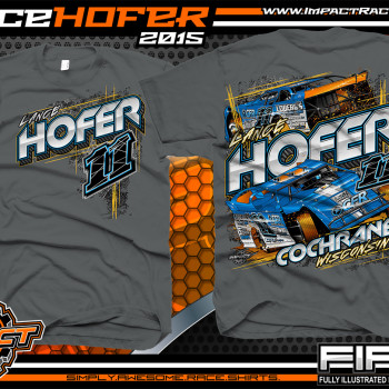 Lance Hofer Dirt Late Model Shirts 2015