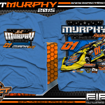 Matt Murphy Dirt Late Model Shirt 2015 Iris