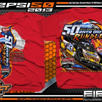 Pepsi 50 Dirt Late Model Event T-Shirt