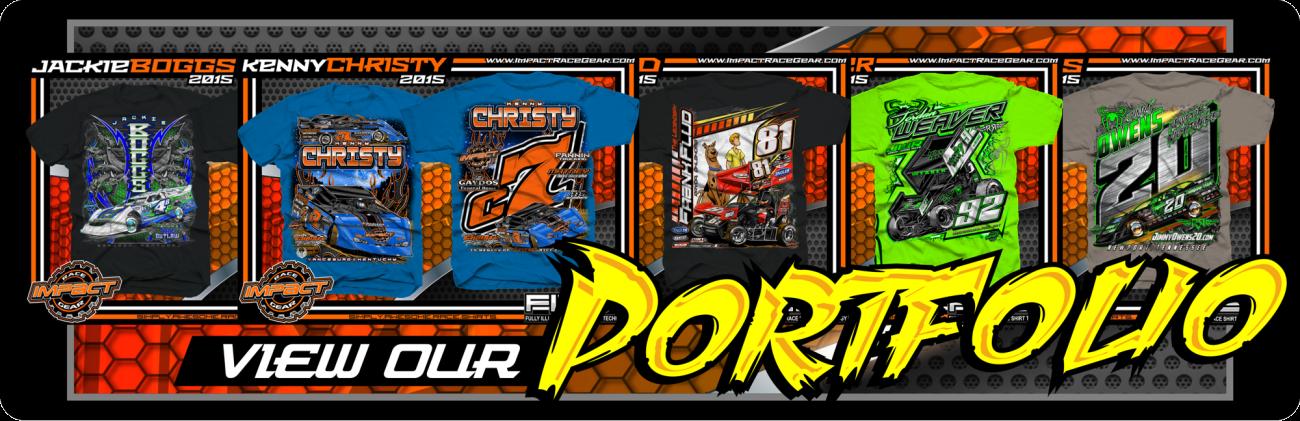 Custom Motorsports Shirts Portfolio