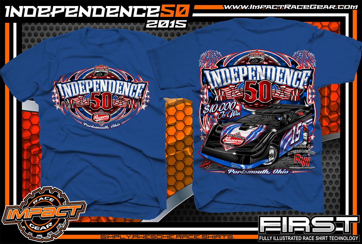 Event Track Racing Shirts Impact Racegear