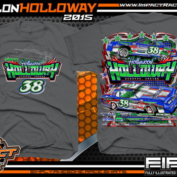 Shaylon Holloway IMCA Hobby Stock Charcoal