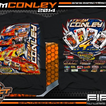 Team Conley Dirt Late Model T-Shirt Black