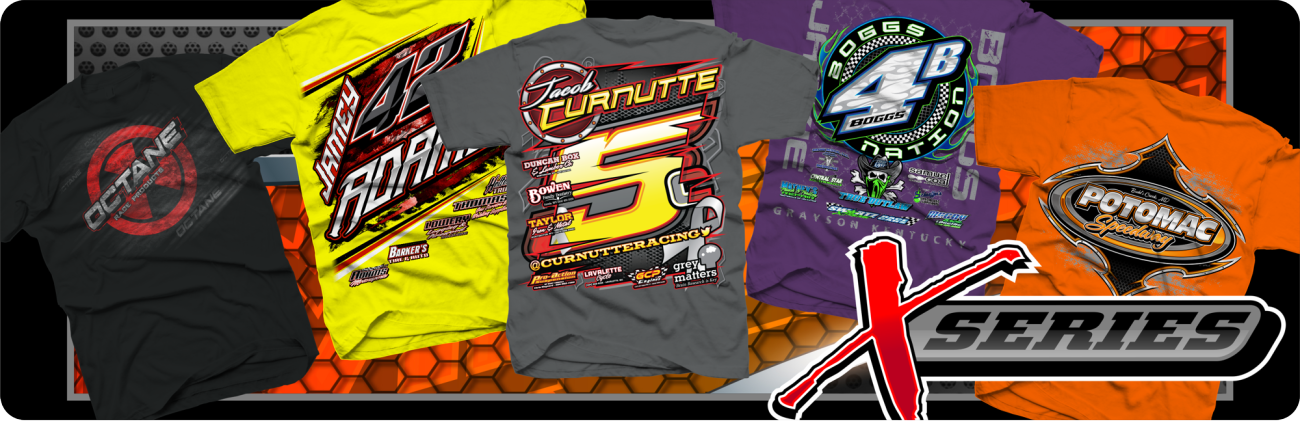 Home impact racegear for Racing t shirts custom