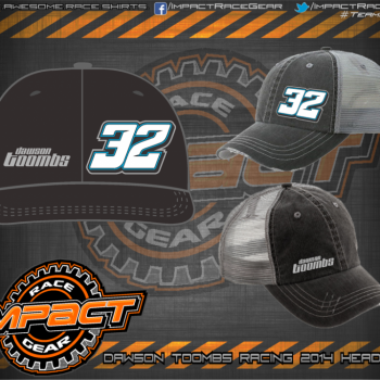 Dawson Toombs Racing HeadGear