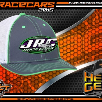 JRC Race Cars Fitted Trucker Racing Hat 2015