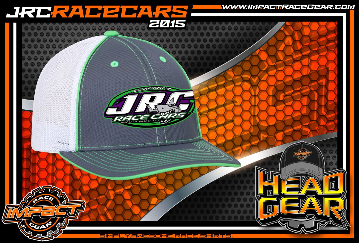 JRC Race Cars Fitted Trucker Racing Hat 2015 - Impact RaceGear 64b4e64bc978