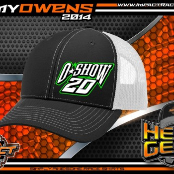 Jimmy Owens O Show Racing Trucker Hat 2015