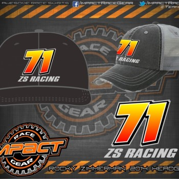 Rocky Zimmerman Dirt Track Modified HeadGear