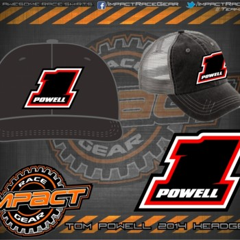 Tom Powell Dirt Modified HeadGear