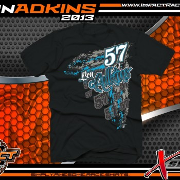 Ben Adkins Dirt Late Model T-Shirt