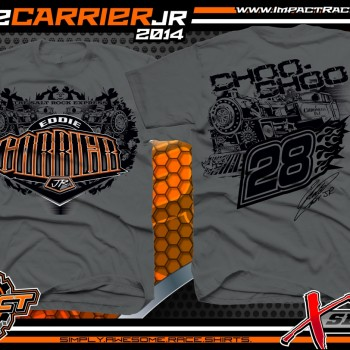 Eddie Carrier Jr Dirt Late Model T-Shirt