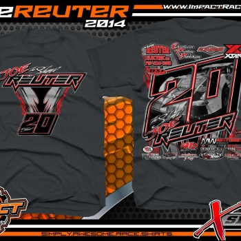 Joe Reuter Dirt Late Model T-Shirt