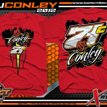 RJ Conley Dirt Late Model T-Shirt