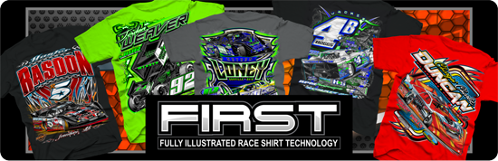 FIRST Series Racing Shirts