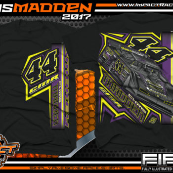 Chris Madden World Of Outlaws Dirt Late Model Dirt Track Racing Shirt