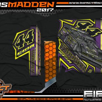 Chris Madden World Of Outlaws Dirt Late Model Dirt Track Racing Shirt