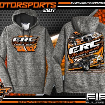 Cory Crapser USMTS Modified Dirt Track Racing Performance Hoodie Michael Truscott USRA B-Mod Dirt Track Racing Performance Hoodie