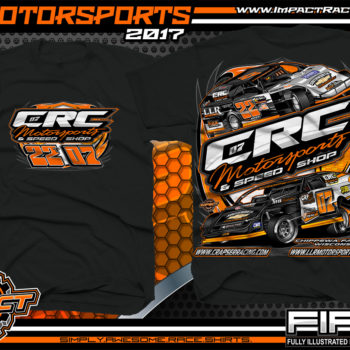 Cory Crapser USMTS Modified Dirt Track Racing T-Shirts Michael Truscott USRA B-Mod Dirt Track Racing T-Shirts