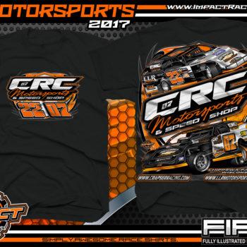 Cory Crapser USMTS Modified Dirt Track Racing T-Shirts Michael Truscott USRA B-Mod Dirt Track Racing T-Shirts