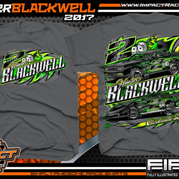 Hunter Blackwell Tennessee Dirt Track Racing T-shirts